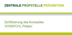 Zertifiziertes STARPOOL PILATES KONZEPT